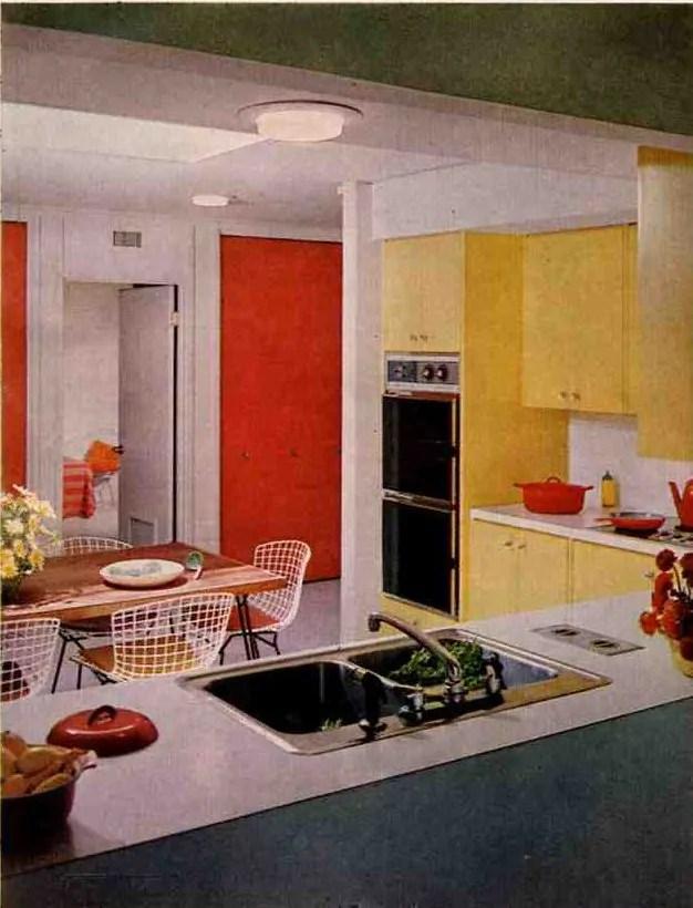 1960s Inspiration Kitchens Retro Renovation