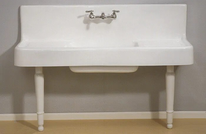 Vintage Style Drainboard Sink Clarion Strom Plumbing Retro