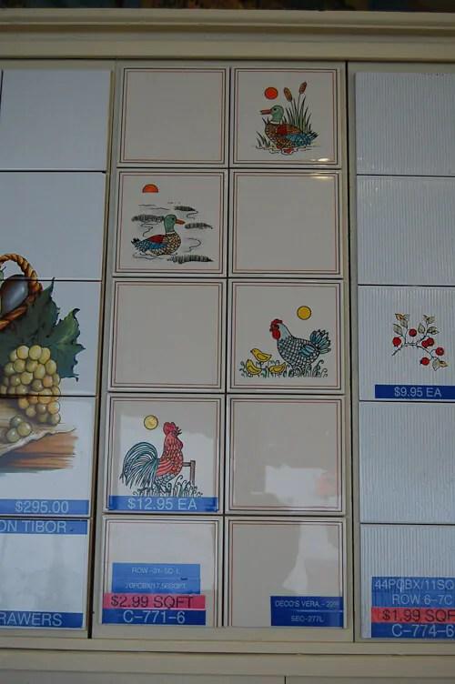 Backsplash Tile Fantastic Affordable New Old Stock