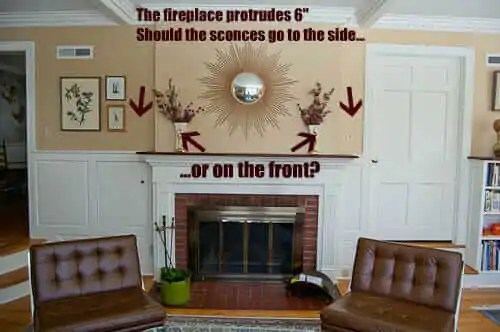 wall sconces and how to place them