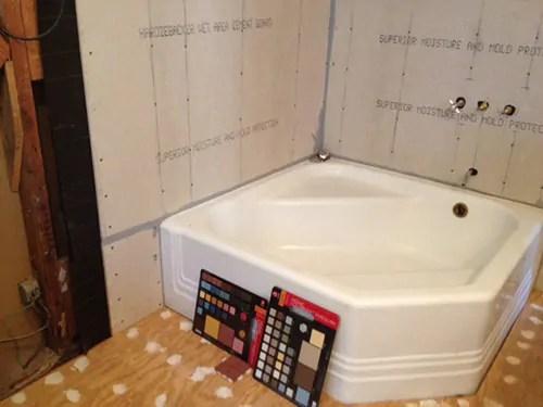 3 Ideas For Angelas Aqua Bathroom Design Retro Renovation