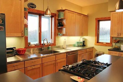 Stacia's One-piece, Custom Kitchen Stainless Steel Sink