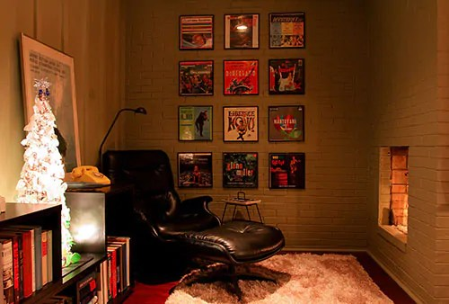 Framed Record Albums Can Be USed To Decorate Your Home Or Office
