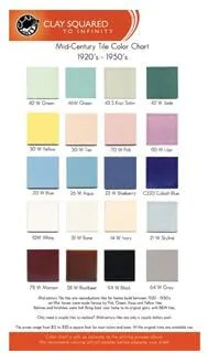 20 tile colors of b w tile where to
