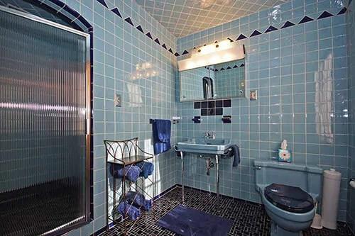 vintage blue bathroom colors from seven