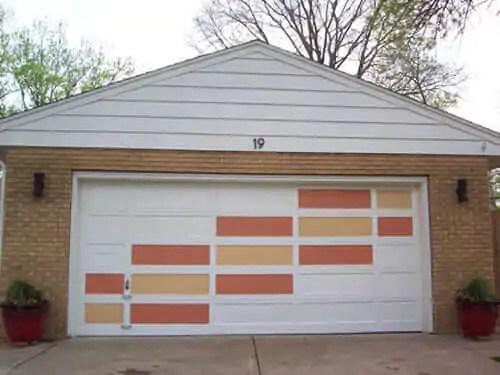 Create a modern garage door with this easy DIY idea ... on Garage Door Paint Ideas  id=37798