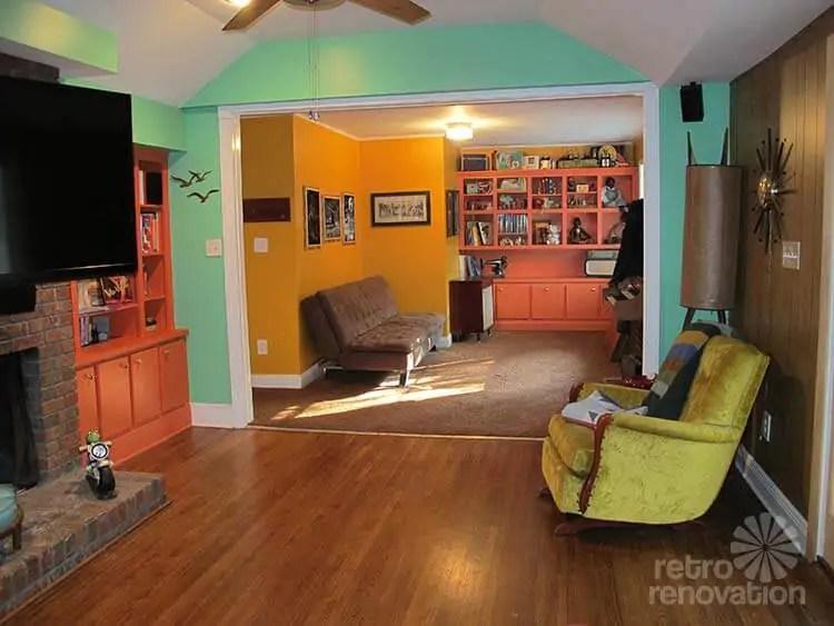 Harmonizing Midcentury Modern Paint Colors Ashley Wants