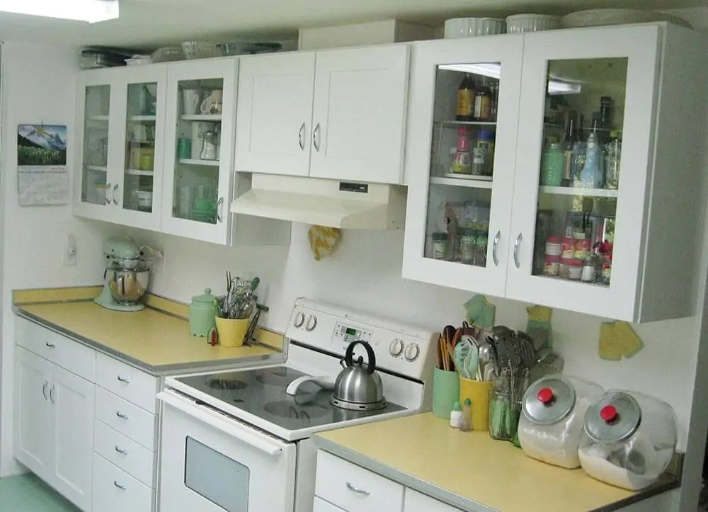 Yellow Kitchen Countertops