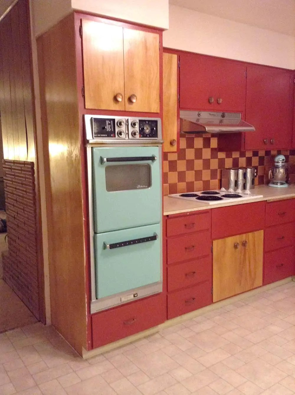 Flooring And Countertops For Shannans 1950s Kitchen Retro Renovation