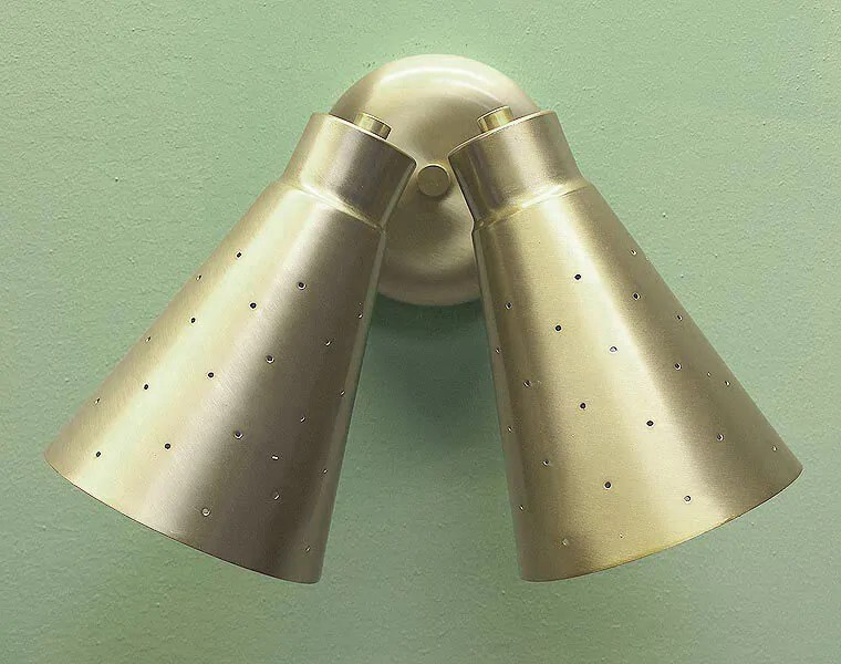 Where to buy cone lights, starting at $50 - five places to ... on Mid Century Modern Sconces id=24199