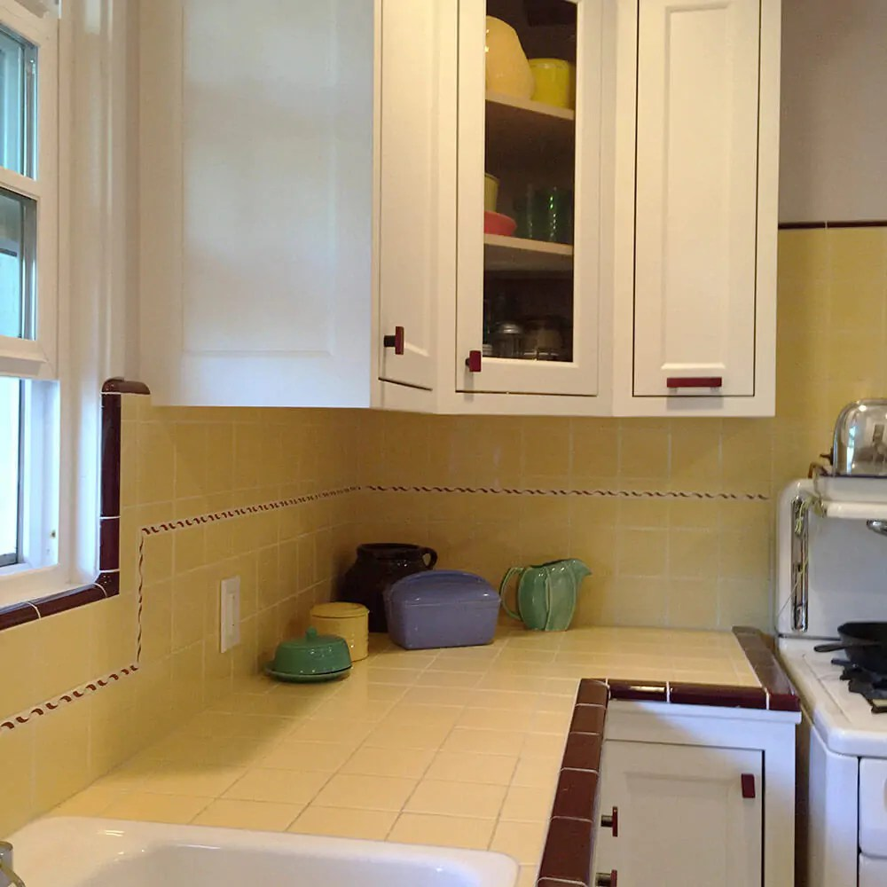 Carolyns Gorgeous 1940s Kitchen Remodel Featuring Yellow