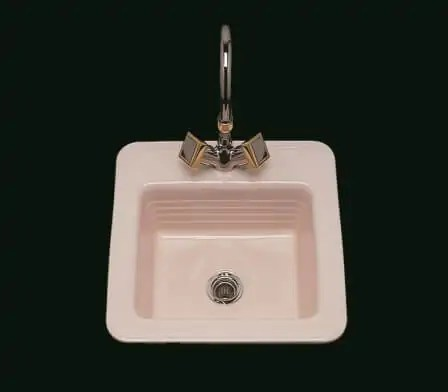 small bathroom sinks from bates and bates - in 15 colors - retro