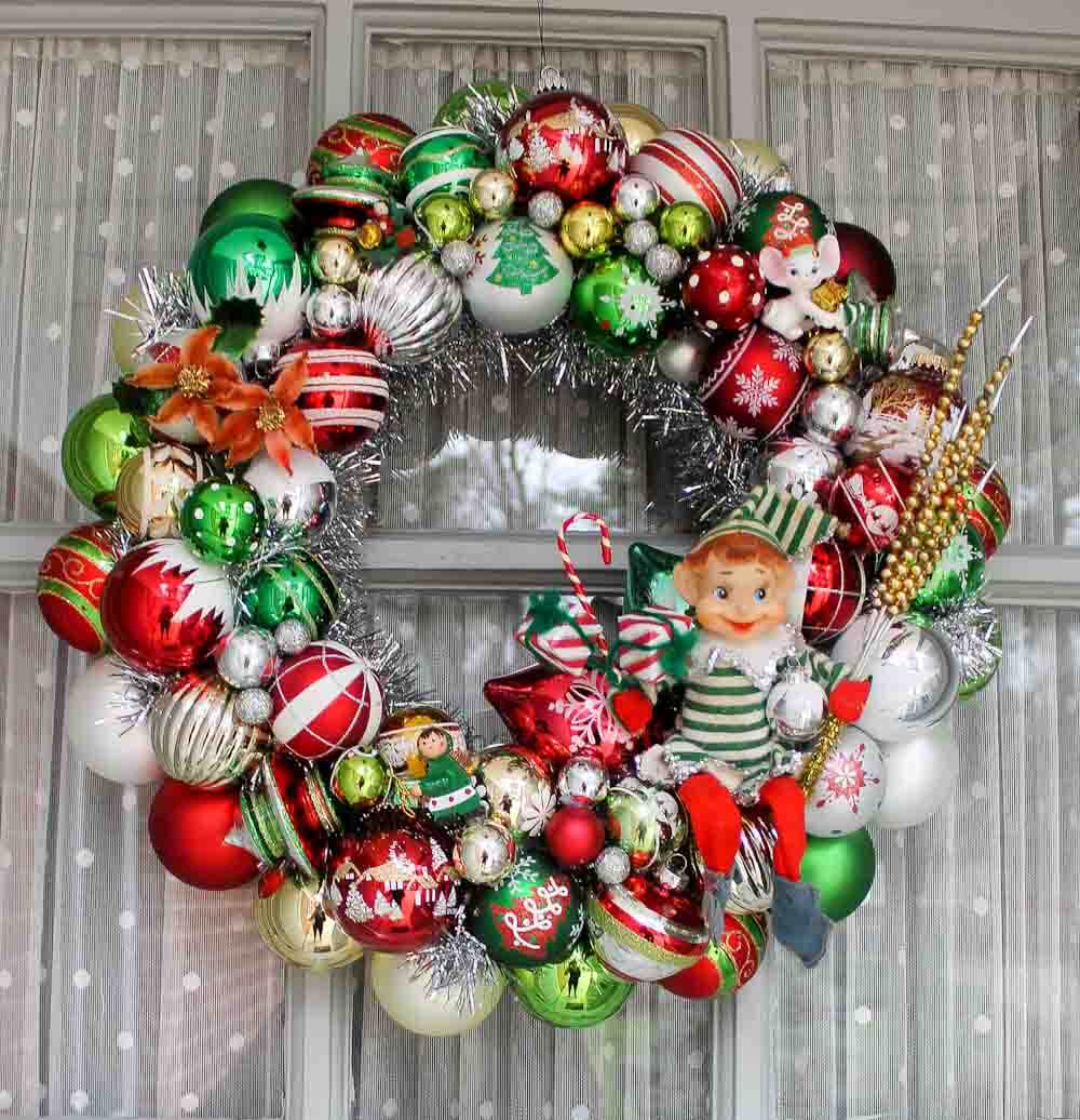 Are The Ornaments On Your Ornament Wreaths Coming Loose