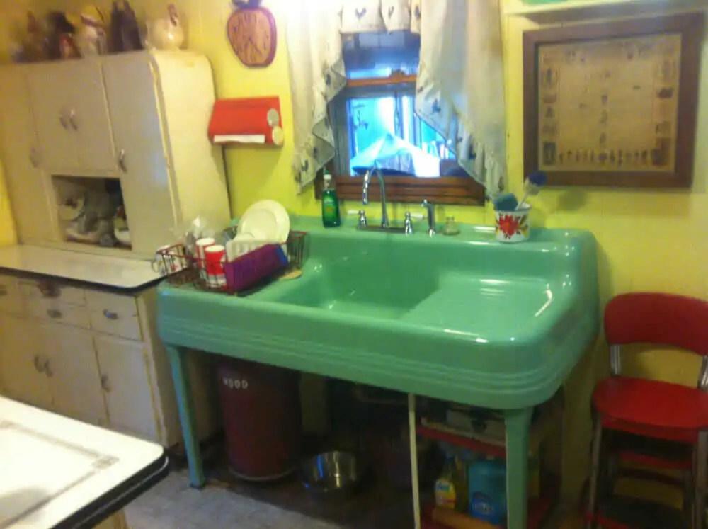 150 vintage drainboard kitchen sinks