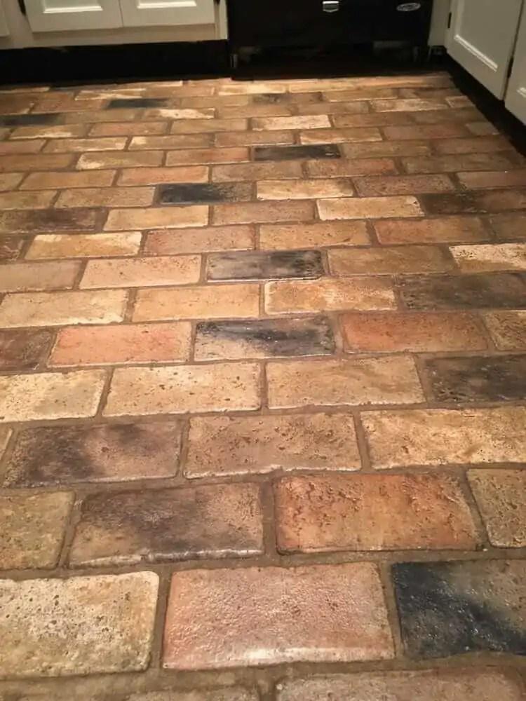 brick tile flooring is it original to