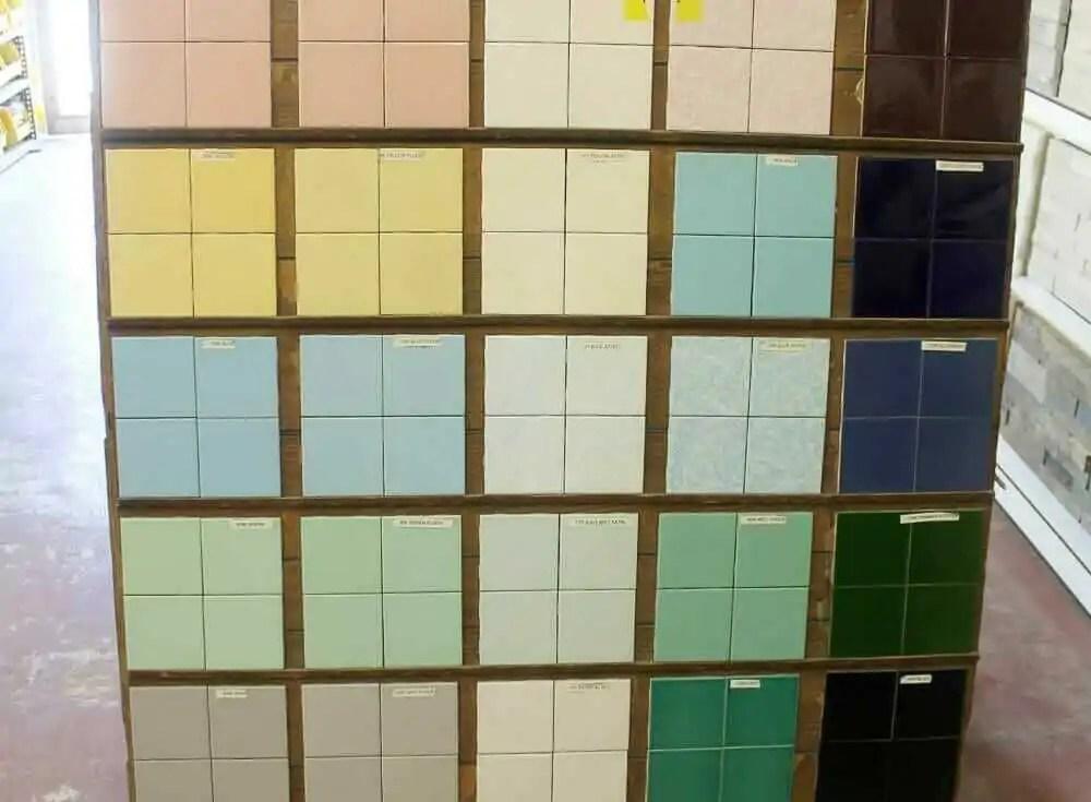 4 ceramic bathroom wall tile