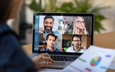 Guide til at konvertere offline møder til online møder