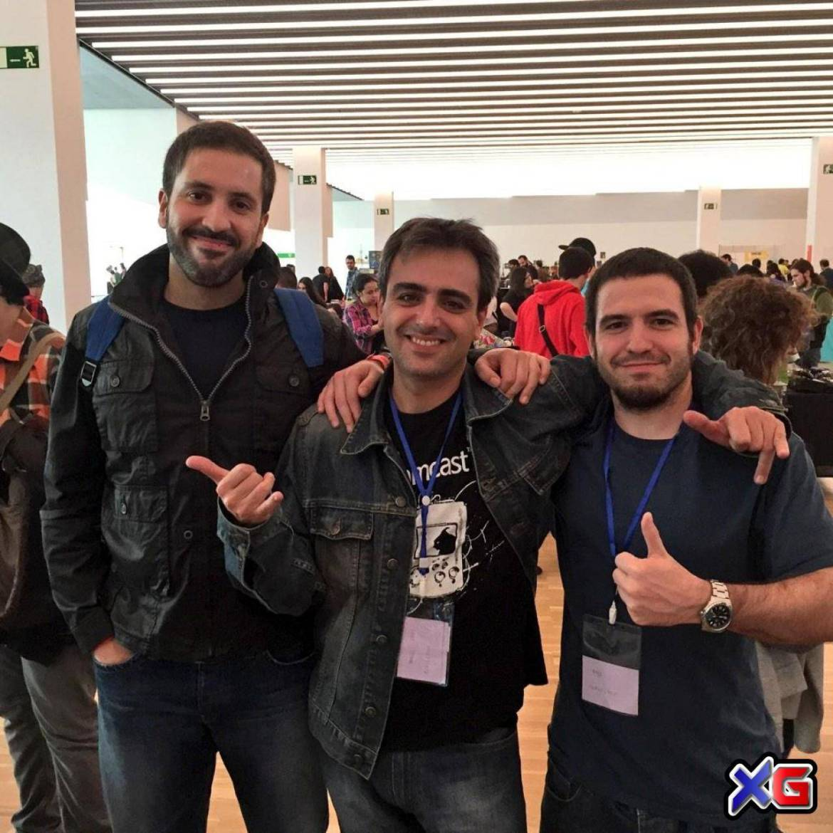 Carlos, Chui and Abel at RetroBarcelona 2014