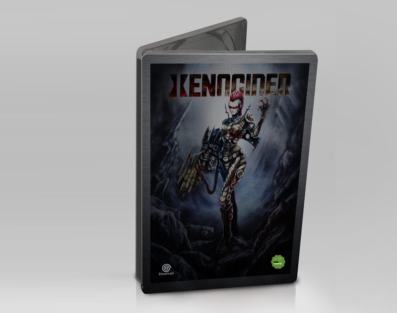 Xenocider Kickstarter metal case edition