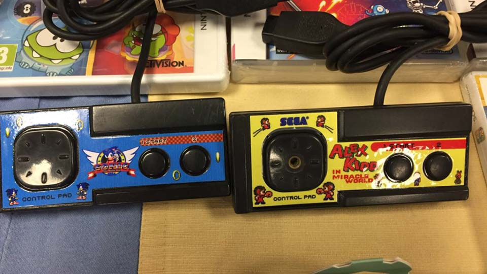 Master System custom controllers at Parlabytes