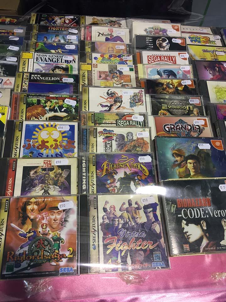 Parlabytes Sega Saturn Dreamcast