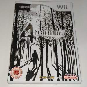 Resident Evil 4 WII Edition PAL