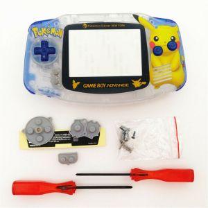 Kit Carcasa Nintendo Game Boy Advance: Edición Pikachu