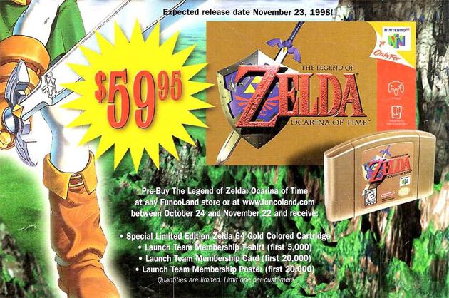 Ocarina of Time Price