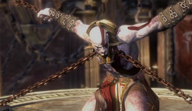 Kratos in Chains