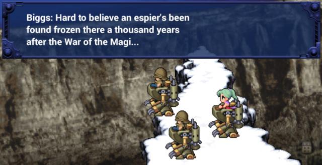Final Fantasy VI Mobile Typo