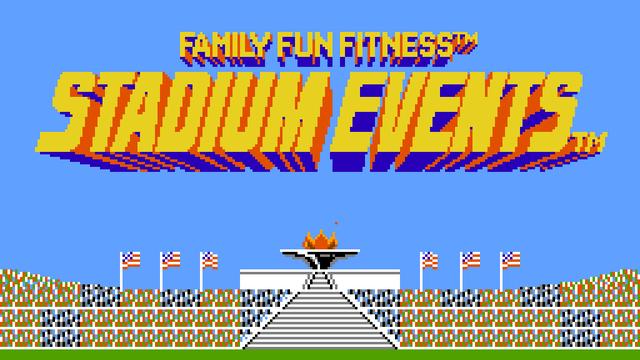 Stadium Events Title Screen