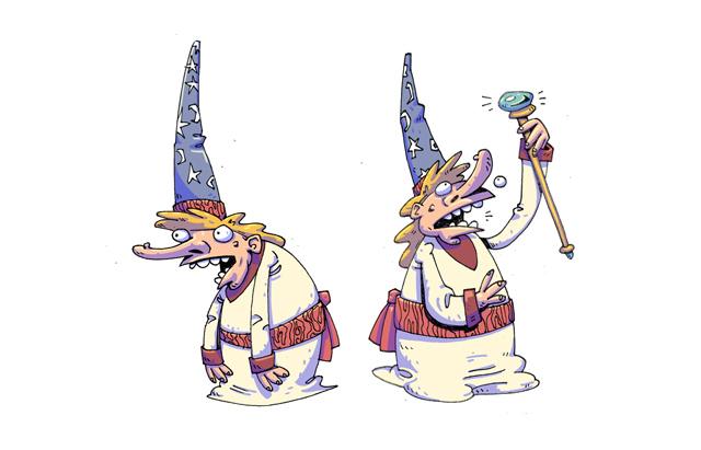 ToeJam and Earl Wizard