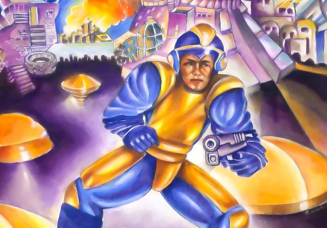 Bad Box Art Mega Man