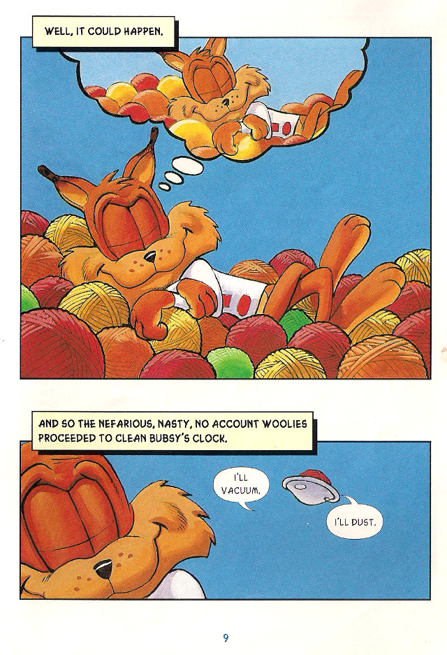 Bubsy Comic Book Page 9