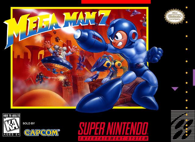 Mega Man 7 Box Art