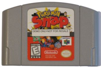 Pokemon Snap NFR - #10 Most Expensive N64 Games