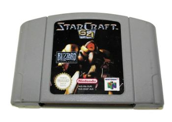 Starcraft 64 - #15 Most Expensive N64 Games