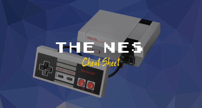 The NES Cheat Sheet