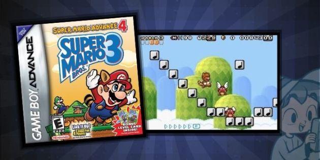 Super Mario Advance 4 Super Mario Brothers 3