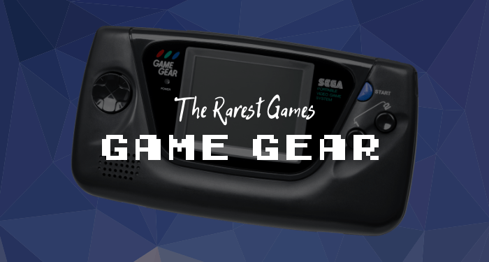 Rarest Game Gear Games