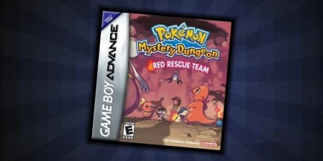 Pokémon Mystery Dungeon Red Rescue Team - #5 Best GBA Pokemon Games