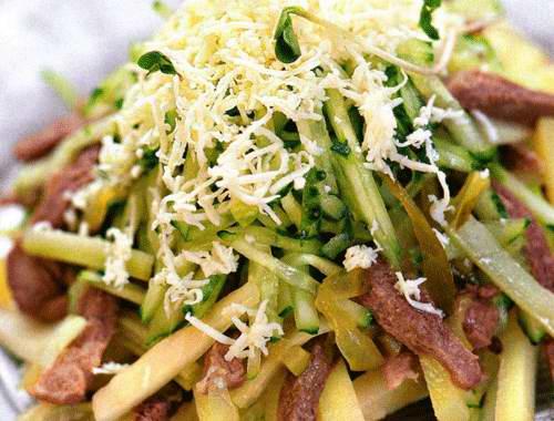 салаты из говяжьего языка » Вкусные и простые рецепты с ...