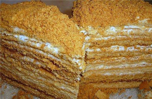Рецепт на английском языке торта медовик » Вкусные и ...