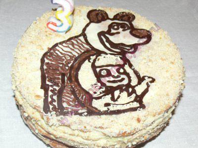 Торт на день рождения ребенка 2 года рецепты с фото ...