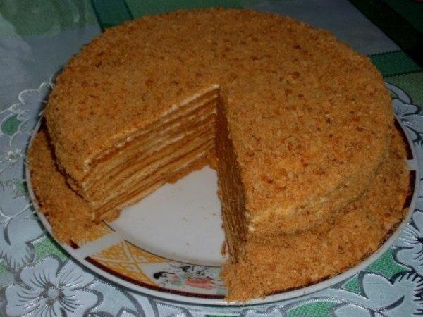 Торт 171Рыжик187 рецепт приготовления с фотографиями