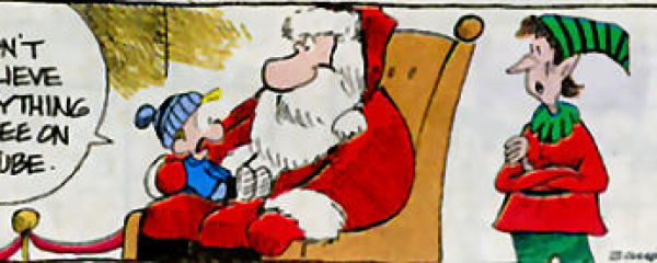 Lügen über den Weihnachtsmann – ein politisches Thema