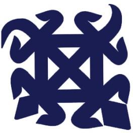 Doppel-Krokodil, Symbol der Ashanti