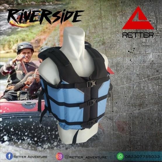 life jacket life vest rompi pelampung retter riverside