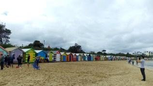 イギリスのブライトンのようなビーチ