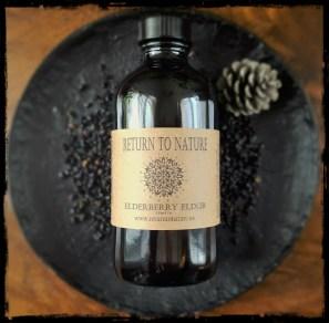 Elderberry Elixir - Website